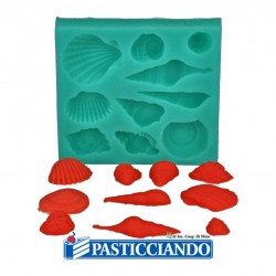 Selling on-line of Stampo in silicone conchiglie