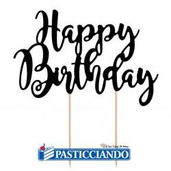 Selling on-line of Happy Birthday nero GRAZIANO
