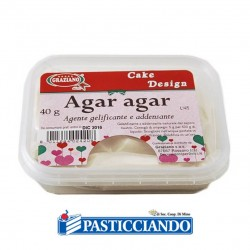 Selling on-line of Agar agar in polvere 40gr GRAZIANO