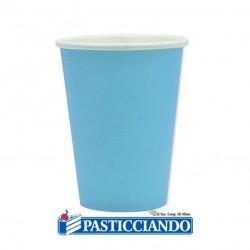 Selling on-line of Bicchieri celesti biodegradabili 25pz 200cc Big Party