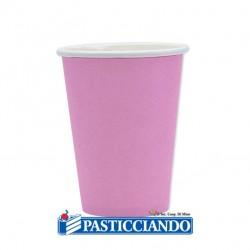 Selling on-line of Bicchieri rosa biodegradabili 25pz 200cc Big Party