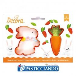 Selling on-line of Tagliapasta coniglio e carota Pasqua 2pz Decora