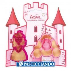 Selling on-line of Tagliapasta principessa e carrozza 2pz Decora