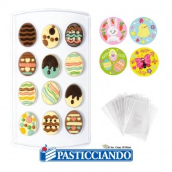 Selling on-line of Kit stampo termoformato uova Pasqua