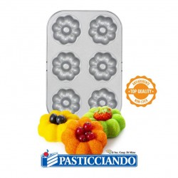 Selling on-line of Stampo antiaderente fiori ciambella Decora