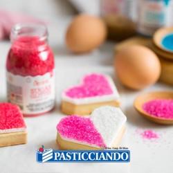 Selling on-line of Zucchero glitterato perla 100gr Decora