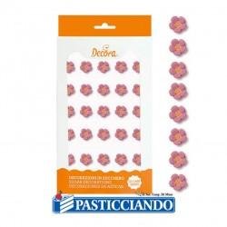 Selling on-line of Fiorellini rosa in zucchero piccoli 30pz Decora