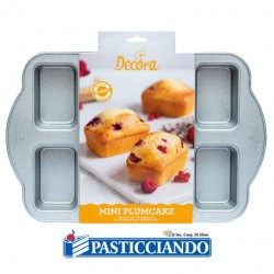 Selling on-line of Stampo mini plumcake 8 Cavità Decora