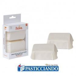 Selling on-line of Pirottini plumcake bianchi 36pz Decora