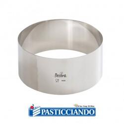 Selling on-line of Cerchio inox D.12 H6 cm Decora