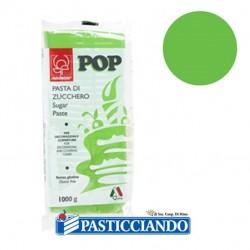 Selling on-line of Pasta di zucchero pop verde 1kg