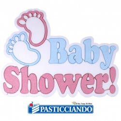 Selling on-line of Sagoma in polistirolo baby shower GRAZIANO