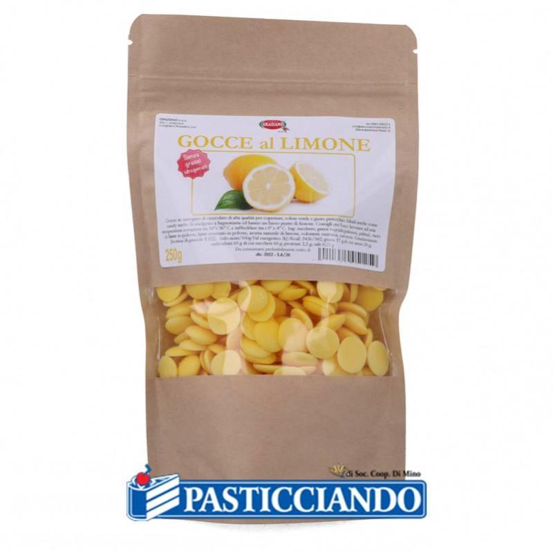 Gocce di cioccolato al limone 250gr - GRAZIANO
