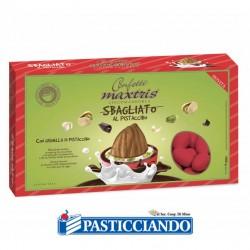 Selling on-line of Confetti sbagliato rosso al pistacchio 1kg