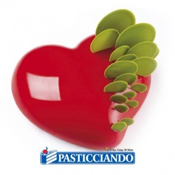 Selling on-line of Tortiera in silicone Passion KE017 D.15 Pavoni