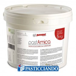 Selling on-line of Pasta amica copertura bianca 5kg Pavoni
