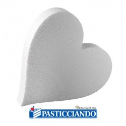 Selling on-line of Cuore in polistirolo D.25 H5 cm