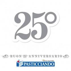 Selling on-line of Festone 25° Anniversario 600 x 25 cm Big Party