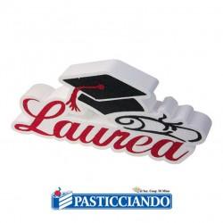 Selling on-line of Scritta in polistirolo Laurea con tocco Big Party
