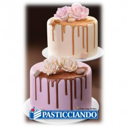 Glassa per drip cake rosa Modecor in vendita online