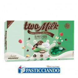 Selling on-line of Confetti Two Milk sfumato verde 1kg Maxtris