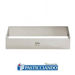 Selling on-line of Rettangolo inox 30x40 H4,5 cm Decora