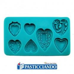 Selling on-line of Stampo in silicone cuori decorativi GRAZIANO