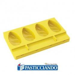 Selling on-line of Stampo per gelato 4 cavità PL08 Poket Waikiki