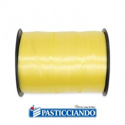 Selling on-line of Nastrino in plastica 5 mm x 500 yards Giallo