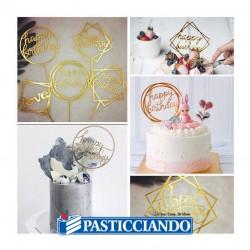 Topper calice comunione oro Fruttidoro s.r.l. in vendita online