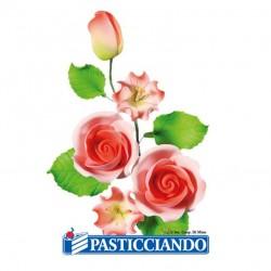 Selling on-line of Ramo rose color pesco in zucchero Ambra's