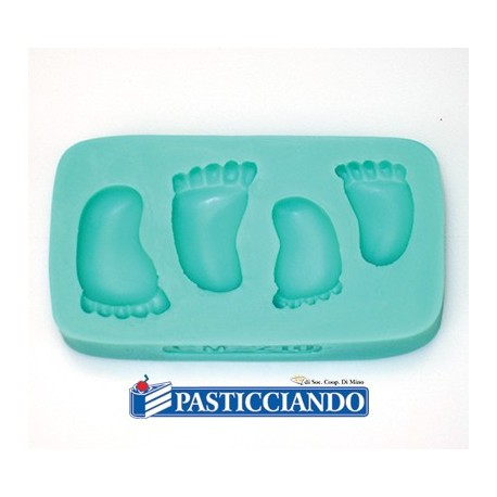 Stampo piedini in silicone - GRAZIANO
