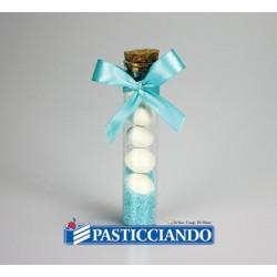 Tubo porta confetti con tappo in sughero 12,5cm  in vendita online