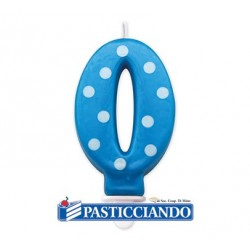 Candela numero a pois Big Party in vendita online