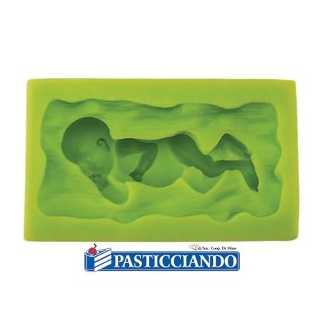 Stampo in silicone neonato - GRAZIANO
