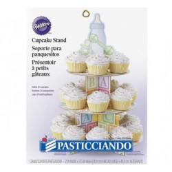 Alzatina cupcake baby
