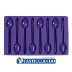 Stampo silicone cucchiaini Wilton in vendita online