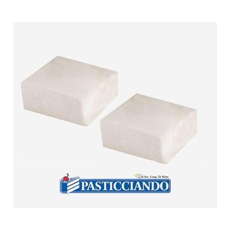 Marshmallow quadrato  bianco senza glutine 1 kg Bulgari - Bulgari