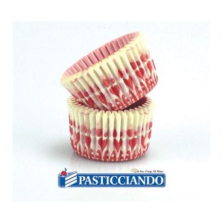 Pirottini mini muffin cuori 288pz - Decora