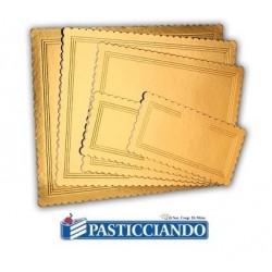 Sottotorta oro rettangolare varie misure  in vendita online