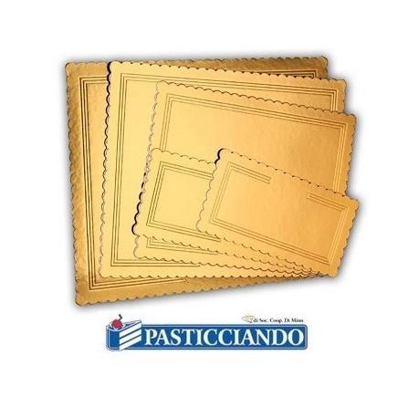 Sottotorta oro rettangolare varie misure -