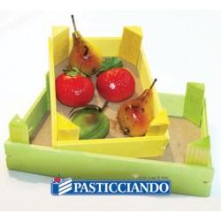 Cassettina in legno per Frutta Martorana