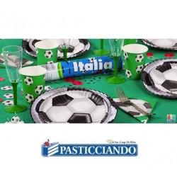 Tovaglioli calcio verde Big Party in vendita online