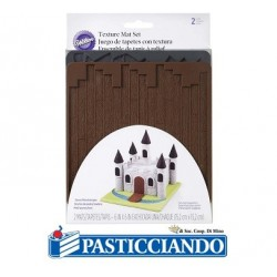 Set stampi decorativi in silicone castello Wilton