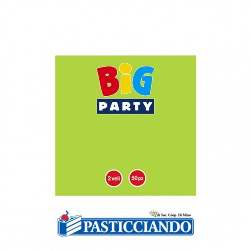 Tovagliolini vari colori - Big Party