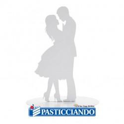 Vendita on-line di Sposi metallo bacio Ambra's