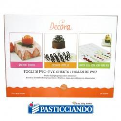 Vendita on-line di Set 10 fogli in pvc Decora