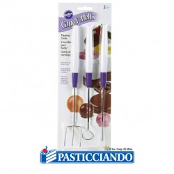 Selling on-line of Set 3 attrezzi per cioccolato Wilton