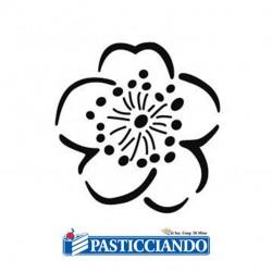 Vendita on-line di Stencil fiore Martellato