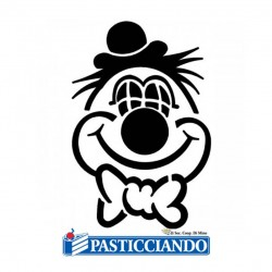 Vendita on-line di Stencil clown Martellato